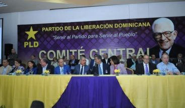 PLD anuncia fecha de reunión de Comité Central para elegir precandidatos