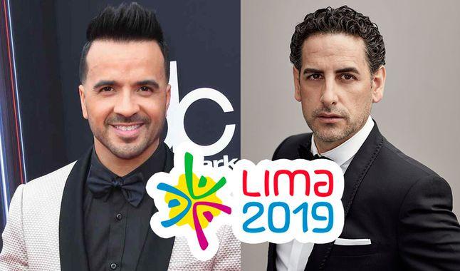 Juan Diego Flórez y Luis Fonsi calientan motores para inaugurar Lima 2019