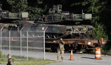 Llegan a Washington los tanques y aviones militares para las celebraciones del 4 de julio