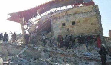 Al menos 6 muertos en bombardeos contra un hospital del norte de Siria