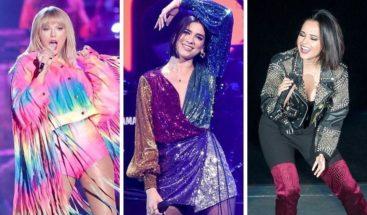 Becky G, en concierto con Taylor Swift y Dua Lipa: