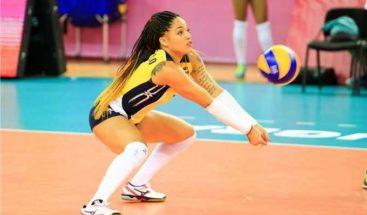 Voleibol RD vence 3-0 a Azerbaiyán en Preolímpico; Brenda Castillo monta show defensivo