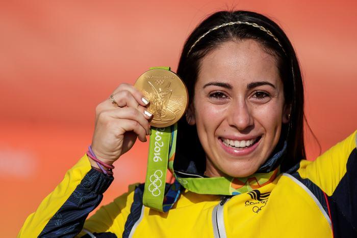 Colombiana Mariana Pajón demostró su nivel olímpico en Lima 2019