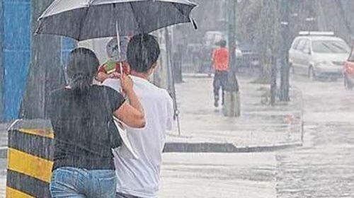 Vaguada provocará aguaceros y tronadas en varias localidades del país