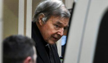 Víctima del cardenal Pell, aliviada con la condena por pederastia ratificada