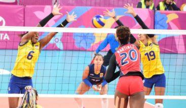 Reinas del Caribe vencen a Colombia 3-1 y ganan oro para RD