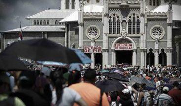 Miles de fieles agradecen a la Virgen de los Ángeles en Costa Rica