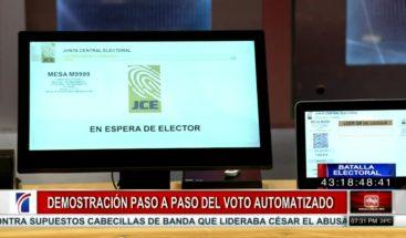 ¿Sabe usted cómo votar en las elecciones primarias de octubre?