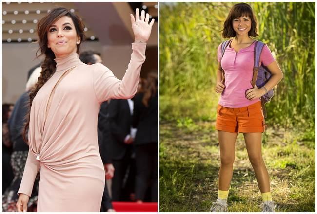 Eva Longoria, una fan absoluta de Dora: