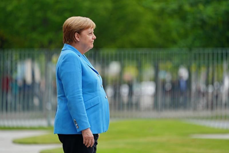 Estrés, párkinson, esclerosis... ¿Qué le pasa a Angela Merkel?