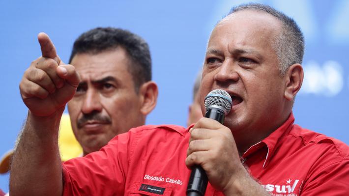 Diosdado Cabello dice a EE.UU. que si quiere negociar tiene que hacerlo con Maduro