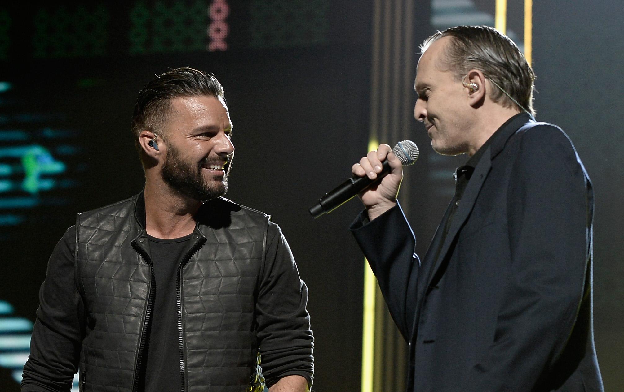 Ricky Martin y Miguel Bosé acudirán a cumbre Nobel de Paz en México