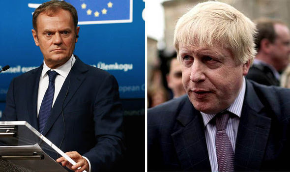 Donald Tusk y Boris Johnson se reunirán en el G7 para abordar el