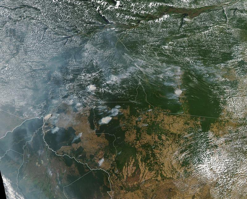 Obispos latinoamericanos urgen a Brasil y Bolivia tomar medidas por incendios