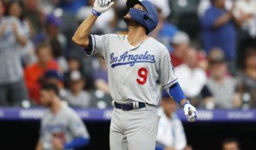 Negron vuelve a jonronear en la victoria de los Dodgers