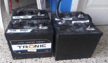 PN apresa hombre que sustraía baterías a vehículos estacionados en la vía pública