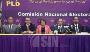 Comisión electoral PLD dice decisión elección de precandidatos será presentada a Comité Central