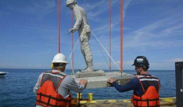 Inauguran monumento submarino a excombatientes de EE.UU en el Golfo de México