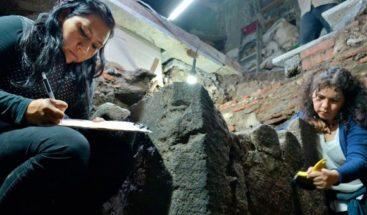 Descubren en Ciudad de México restos de vivienda construida tras la Conquista