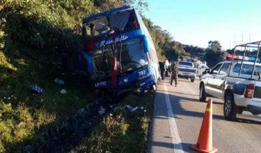 Al menos 11 muertos y un herido en un accidente en una carretera en Bolivia