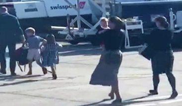 Los duques de Cambridge vuelan a Balmoral con la compañía barata FlyBe