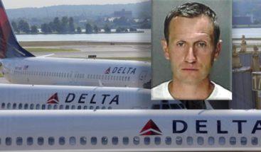 Arrestan a piloto borracho en vuelo matutino de Delta Airlines
