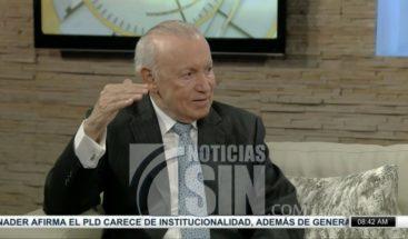 Rafael Alburquerque: Leonel Fernández es el que tiene mayores posibilidades de ganar en el 2020