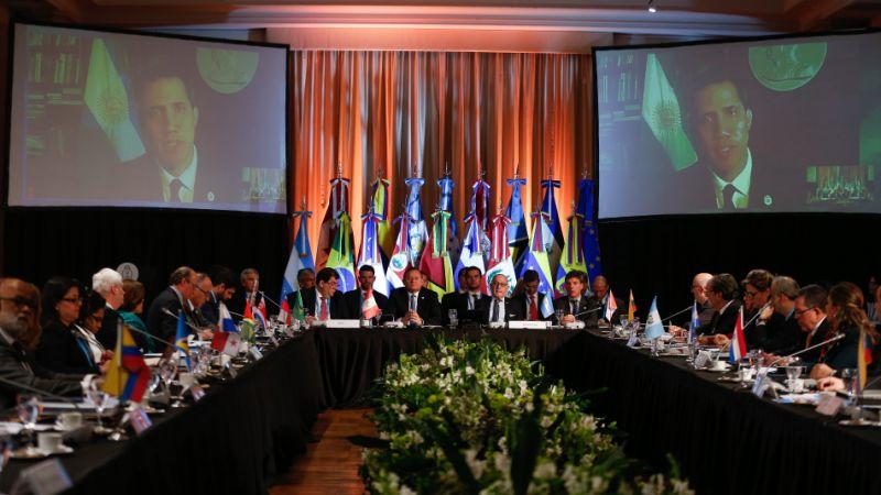 Grupo de Lima rechaza convocatoria de elecciones para Asamblea en Venezuela