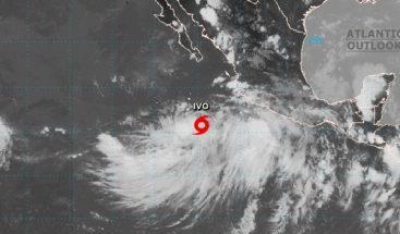 La tormenta tropical Ivo se forma en el Pacífico mexicano