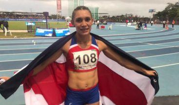 Oro para la costarricense Andrea Vargas en 100 metros vallas