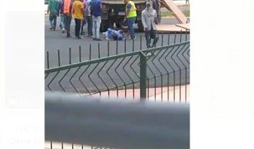 Al menos dos heridos en accidente entre camión y autobús de la OMSA en Ciudad Juan Bosch