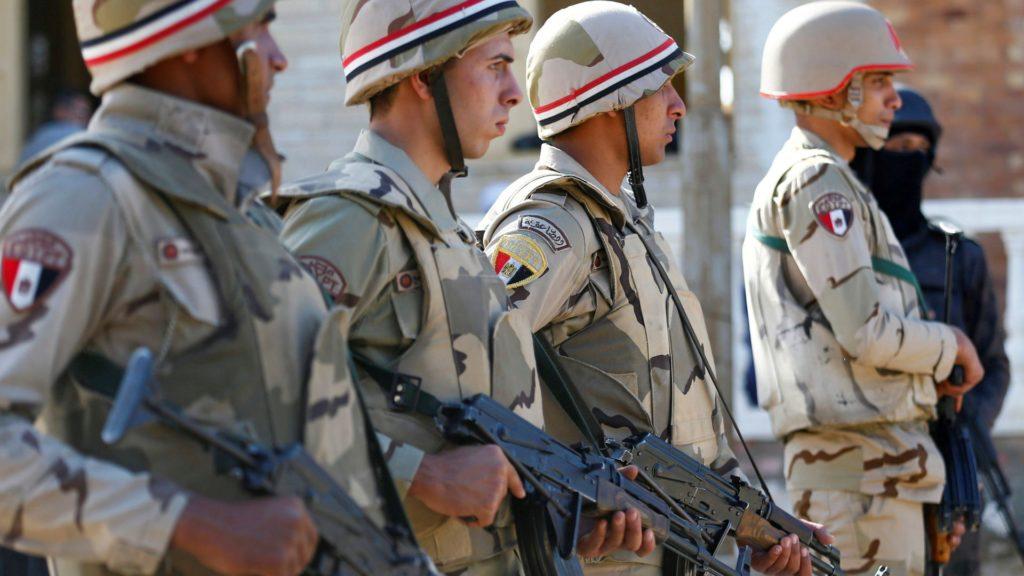 Egipto dice que ha matado a 11 supuestos terroristas en el norte del Sinaí