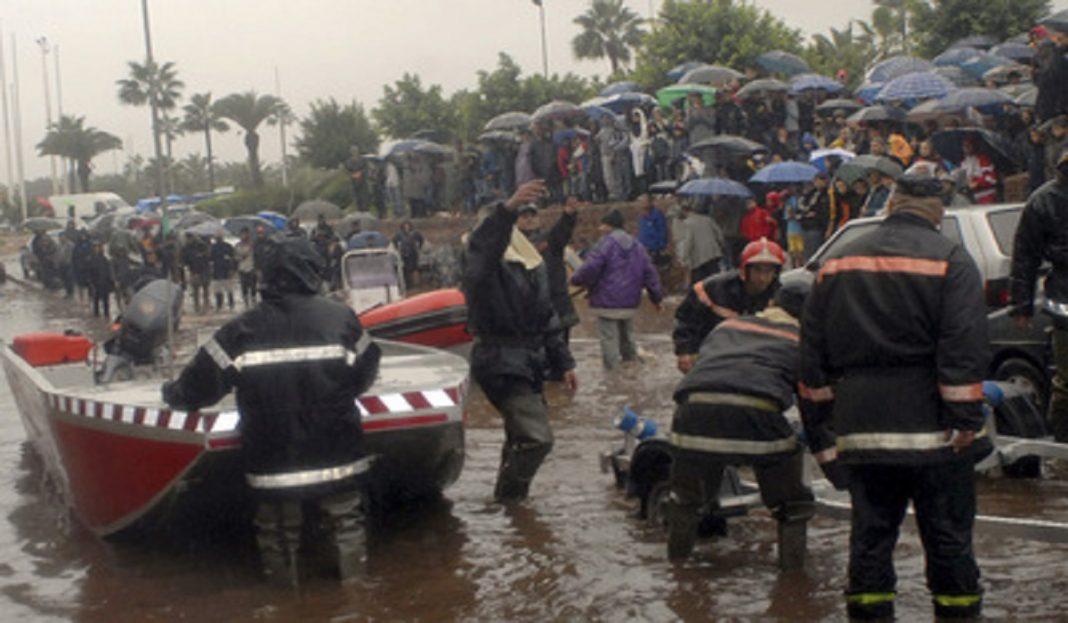 Al menos siete personas mueren en Marruecos arrastrados por un río desbordado
