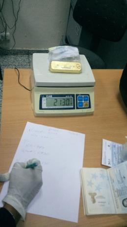Retienen 10 kilos de oro a venezolano que viajaría a EEUU desde el AILA