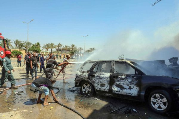Dos miembros de Naciones Unidas mueren en un ataque con coche bomba en Libia