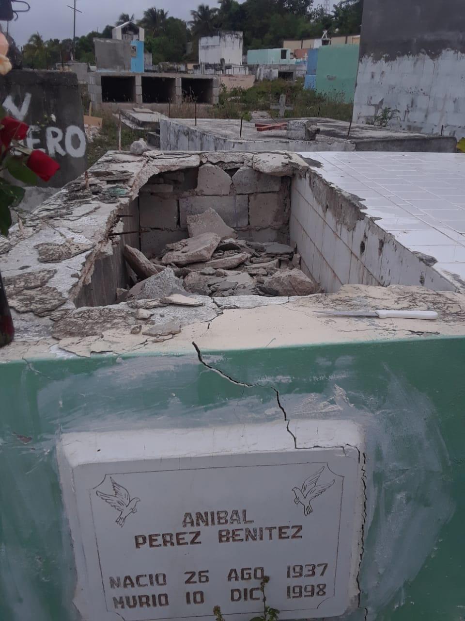 Profanan varias tumbas en el cementerio de Cabral, Barahona