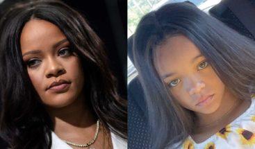 Niña de siete años parecida a Rihanna se hace famosa y firma contrato como modelo infantil
