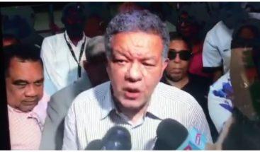 Leonel califica de lamentable y desafortunado incumplimiento del acuerdo