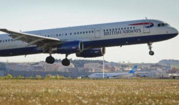 19 heridos al aterrizar en Valencia un avión de British con fuego en un motor