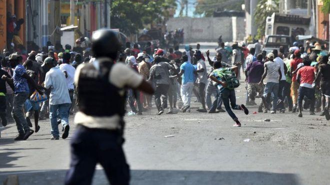 Al menos cuatro muertos y cuatro heridos durante las protestas en Haití