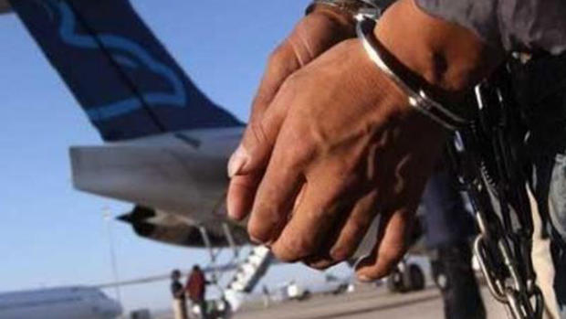 Gobierno de Chile expulsa en avión a 67 inmigrantes dominicanos