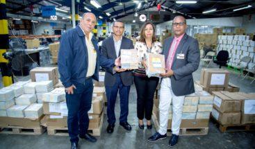 JCE realiza entrega de materiales electorales a partidos que van a primarias