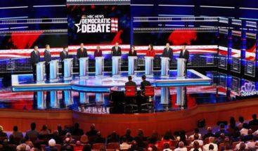 Comienza el primer debate presidencial demócrata con todos los favoritos