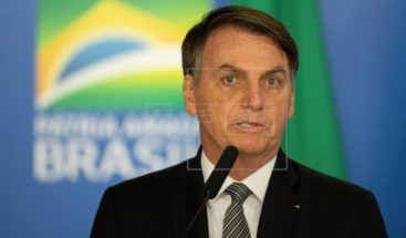 Bolsonaro dice que Brasil busca