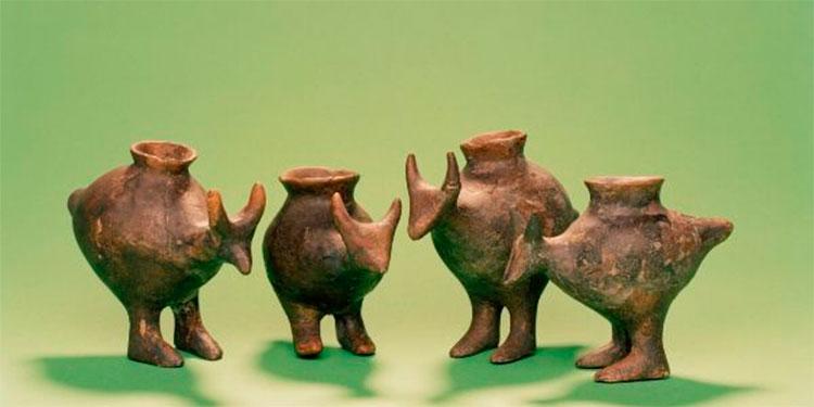 Los bebés en la prehistoria ya bebían leche animal en biberones de arcilla