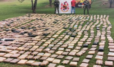 Incautan en Colombia más de 1,4 toneladas de marihuana de disidencias de FARC