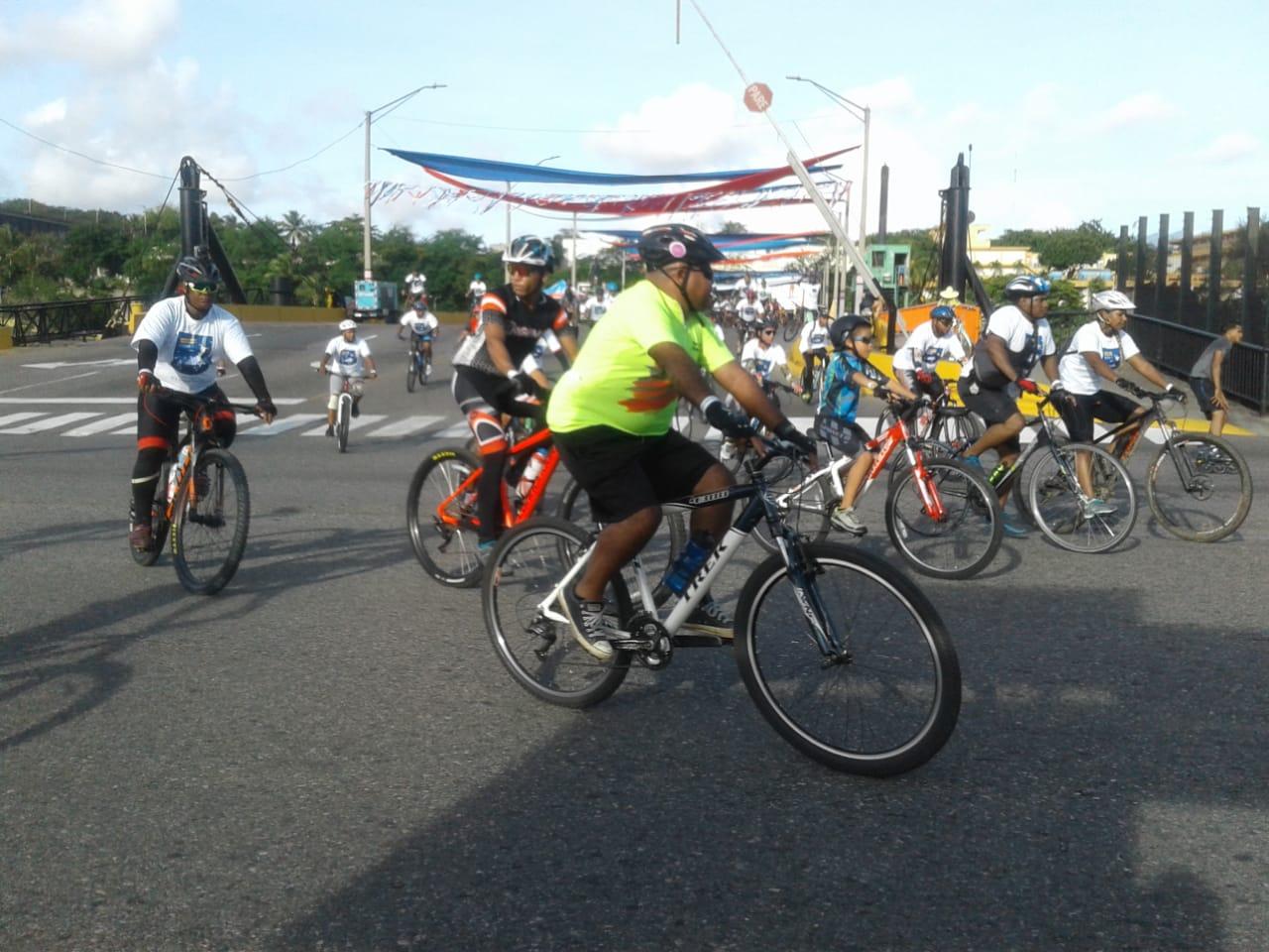 """Celebran sexta versión de """"Bicicletada contra el cambio climático"""""""