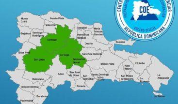 COE emite alerta verde para cuatro provincias por posibles inundaciones