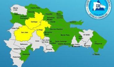 COE declaraen estado de alerta 20 provinciaspor posibles inundaciones