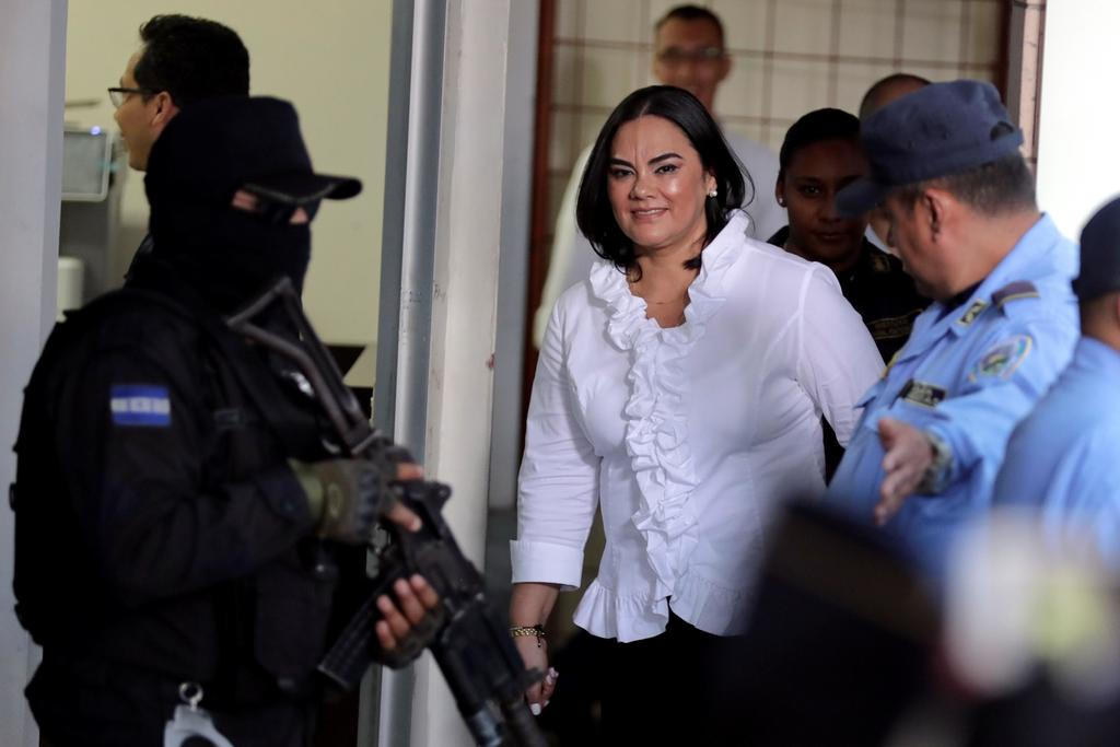Condenan a 58 años por corrupción a la esposa de expresidente hondureño Porfirio Lobo